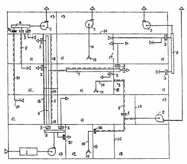Схемы воздуховодов для