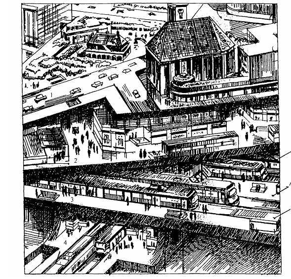 Общественно-транспортный центр