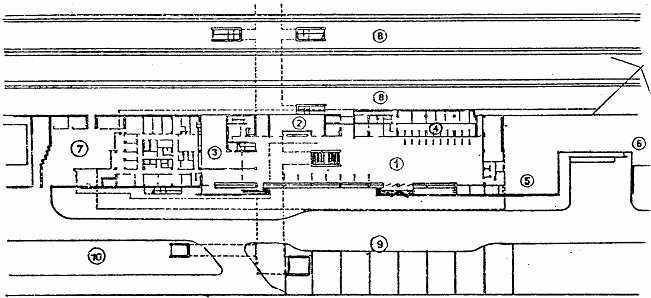 Рис. 22 Железнодорожный вокзал