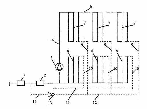 """Рис. 4.1.  Принципиальная схема двухзонной системы горячего водоснабжения с элеваторным.  Схемы:  """"а """" - с общим..."""