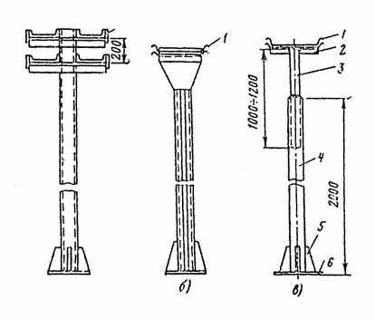 Опорные конструкции для кабельных лотков